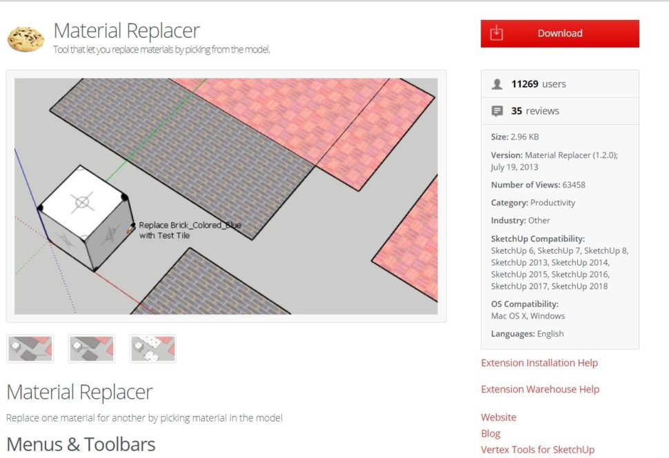Material Replacer
