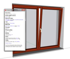 3E Dvere a okna pre SketchUp