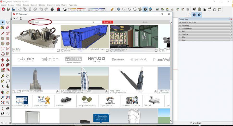 Domov - 3D Warehouse