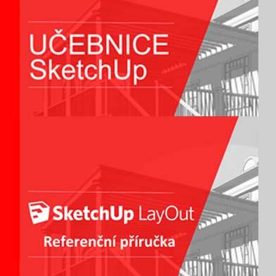Sada SketchUp: Učebnica SketchUp + Príručka LayOut