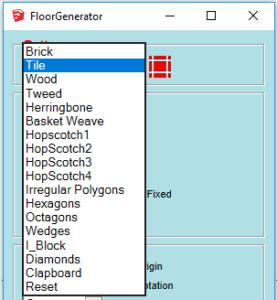 floor generator pattern