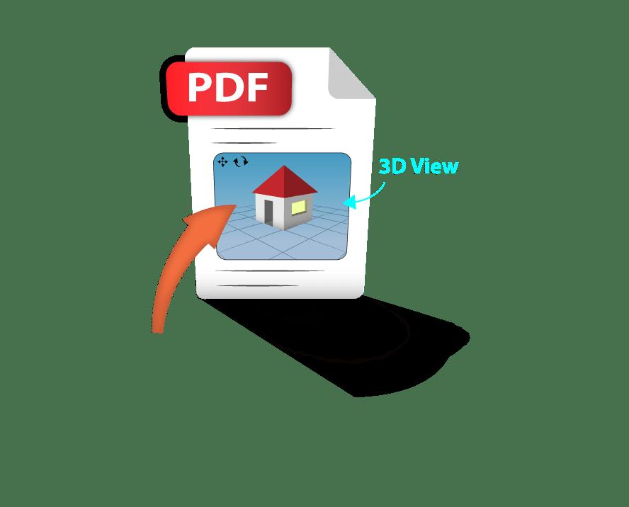 3D pdf sketchup exporter